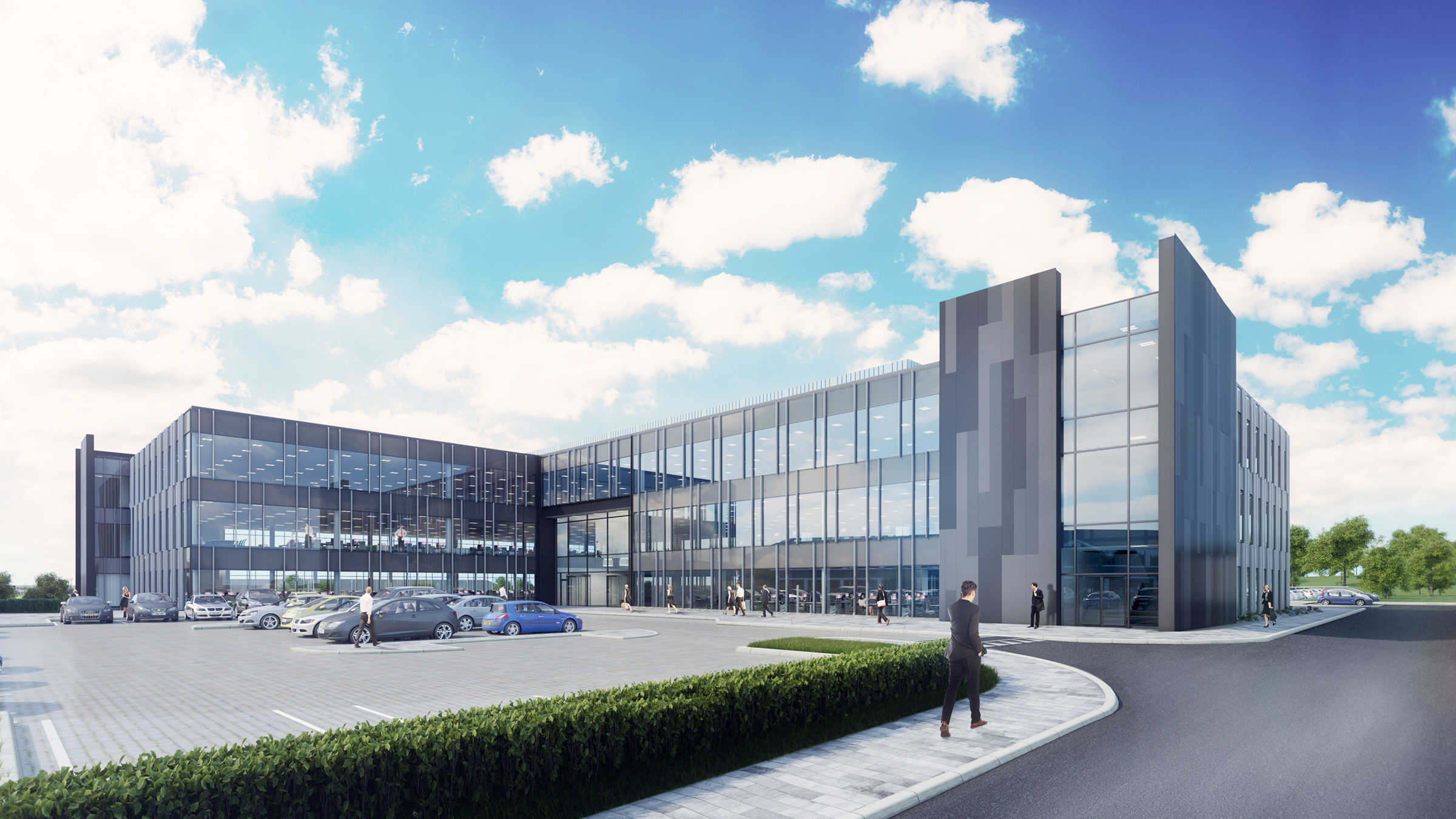 Green light for second phase of Aberdeen office campus