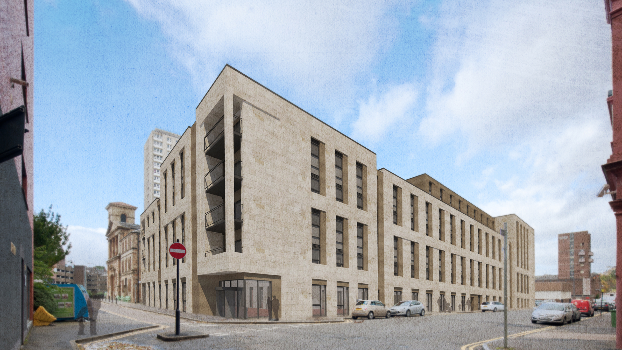 Cowcaddens earmarked for 286 student flats