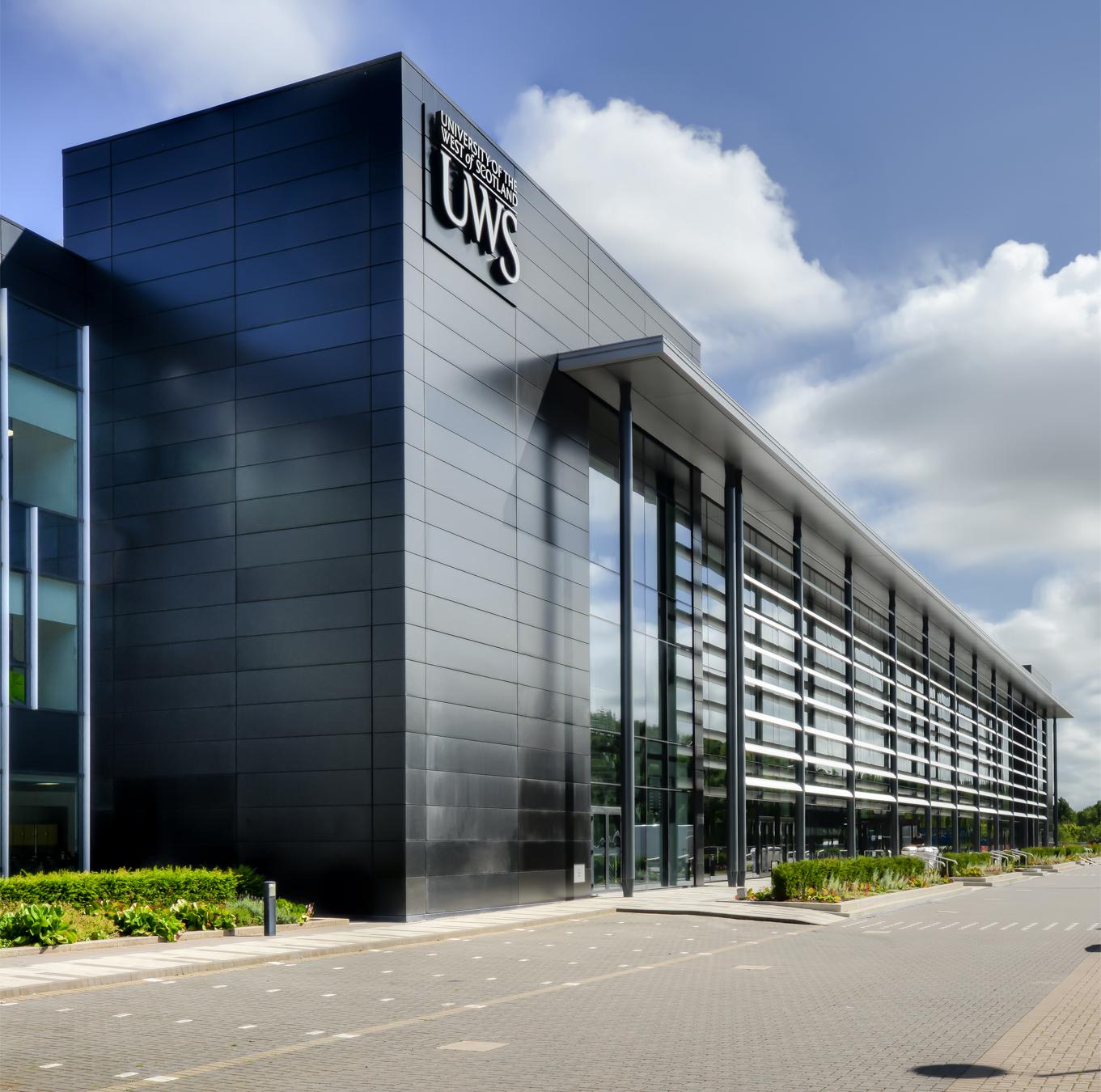 UWS Lanarkshire UK winner of The Guardian University Awards 2009 'Sustainable Buildings that inspire' category.