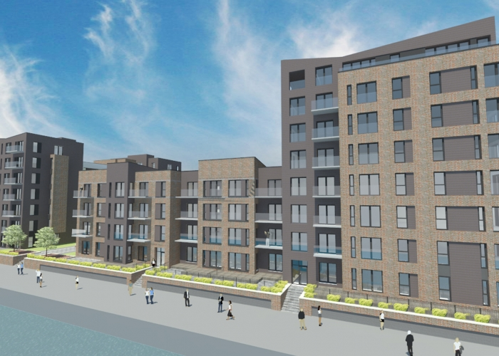Works commence on-site at Mosaic-designed £20m Waterfront Residential Development in Granton Harbour Edinburgh