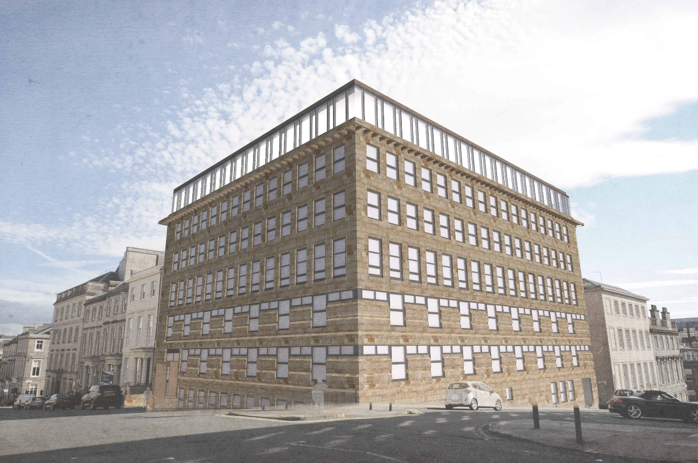 First Adina Apartment Hotel in UK earmarked for Glasgow as Mosaic submits planning application for Blythswood Square redevelopment