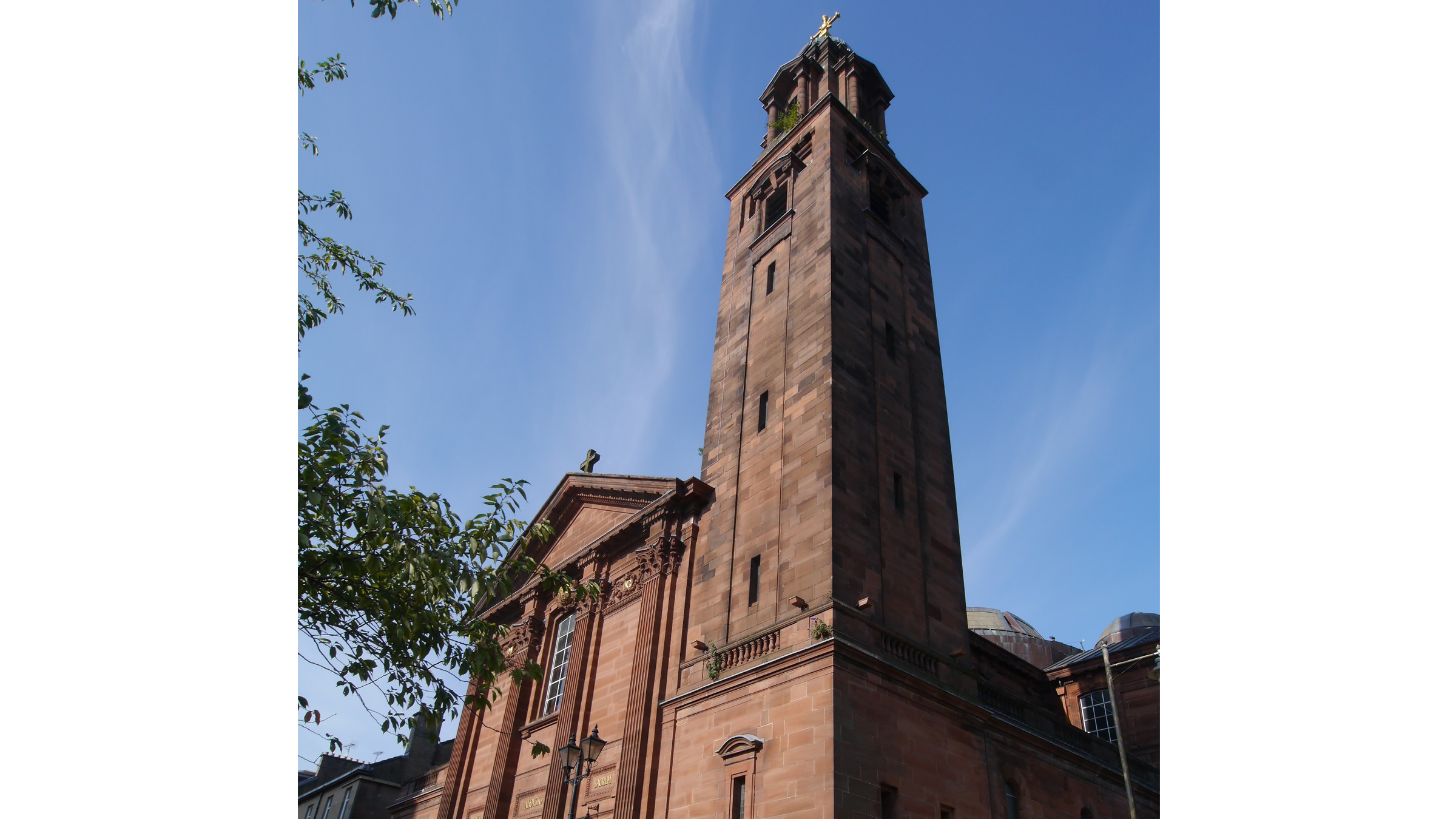 Mosaic wins Heritage Lottery Fund grant for urgent repairs to iconic bell tower at St Aloysius' Church, Glasgow