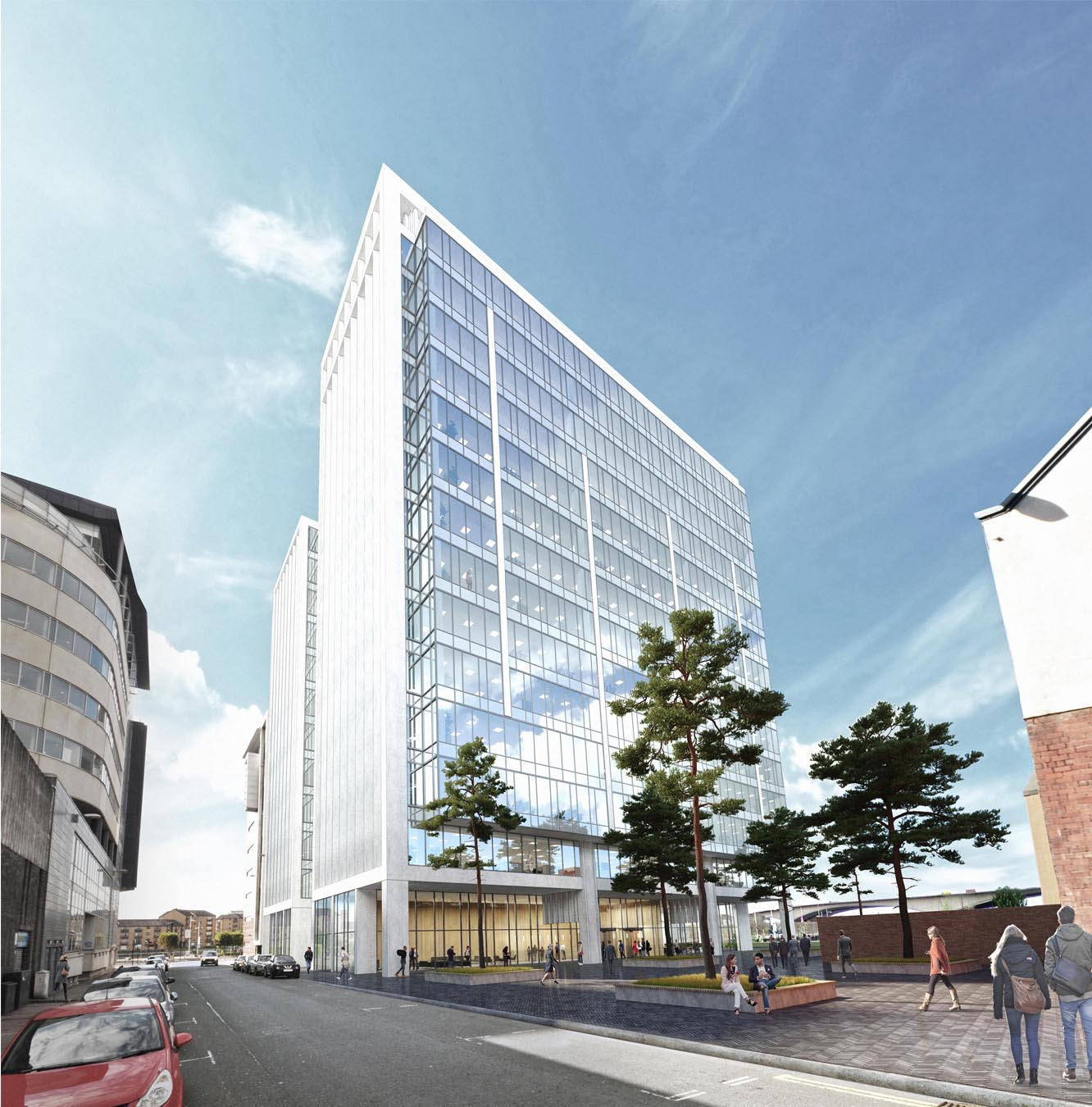 Mosaic granted planning approval for Carrick Square office development in Glasgow's International Financial Services District