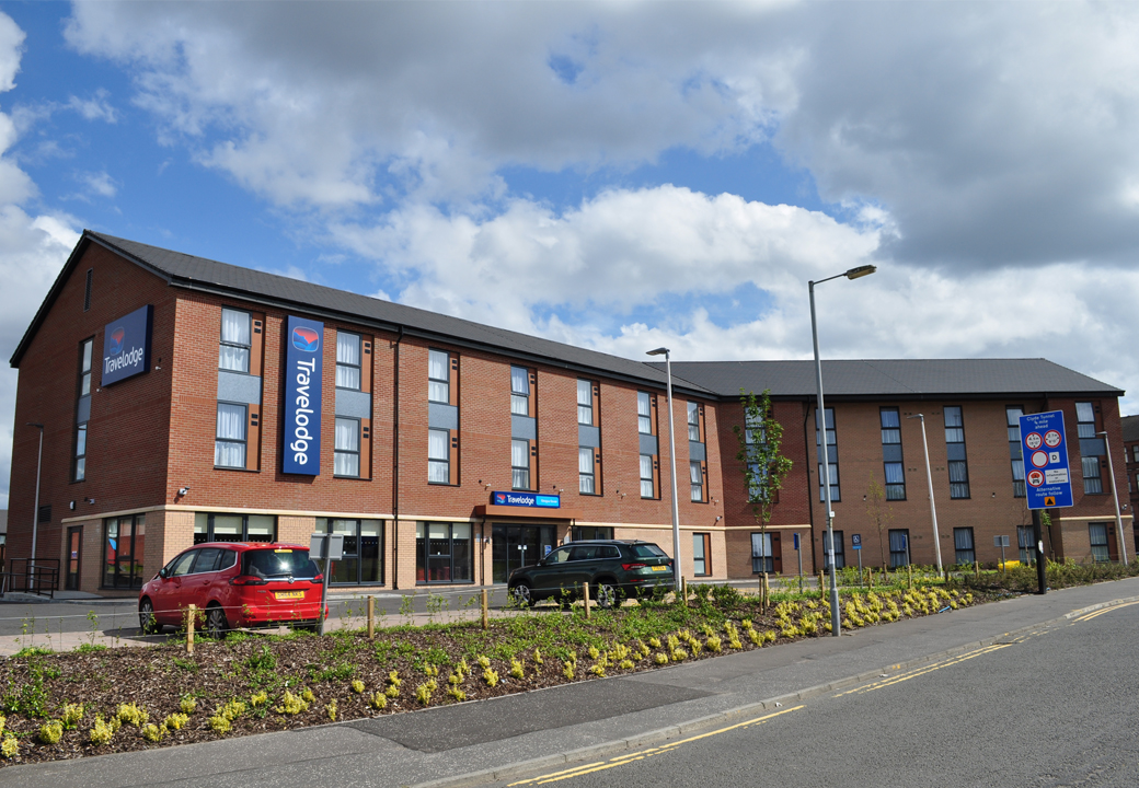 Mosaic-designed Queen Elizabeth Hospital Travelodge opens its doors