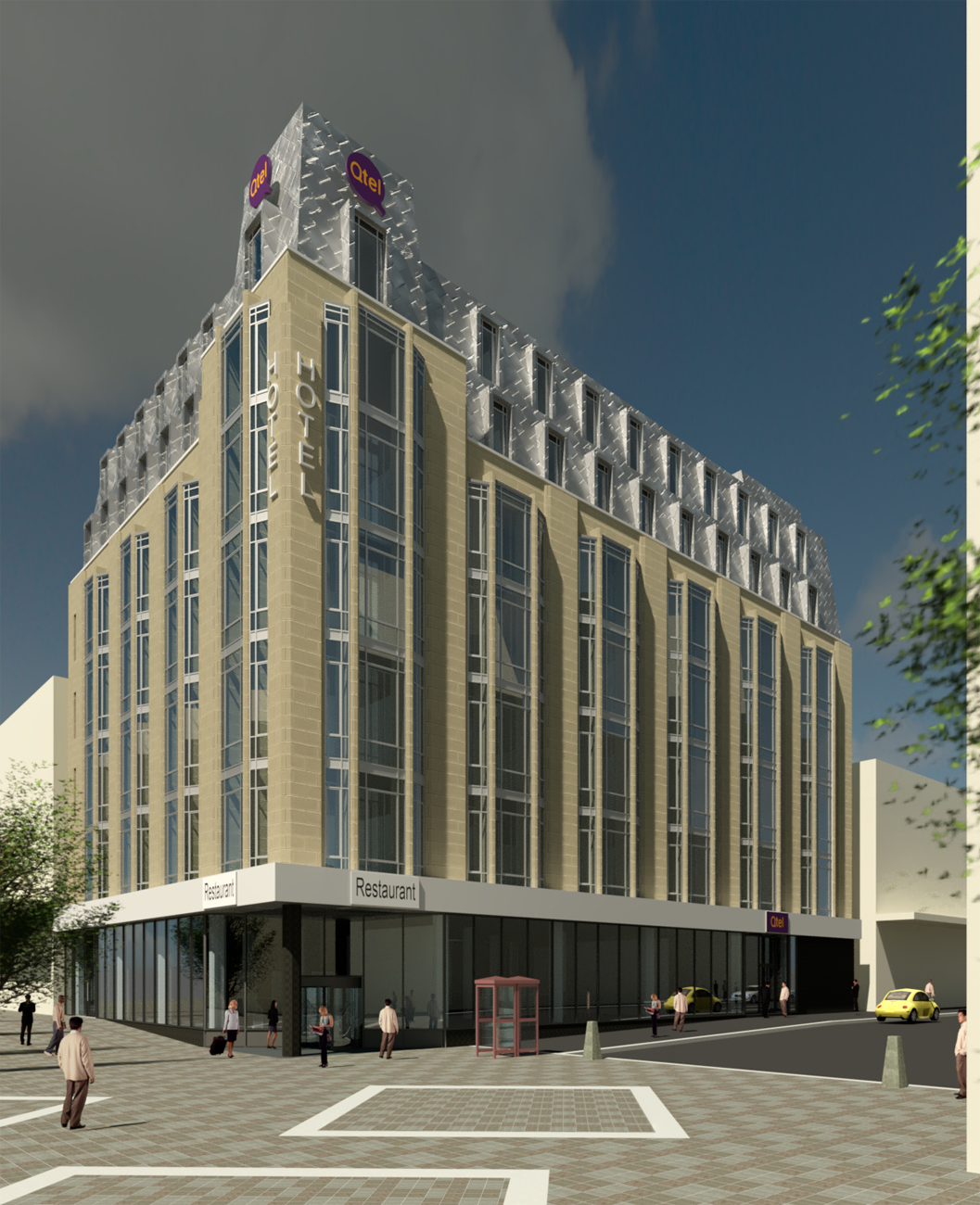 Plans Submitted for Scotland's First Qtel Hotel on Sauchiehall Street in Glasgow