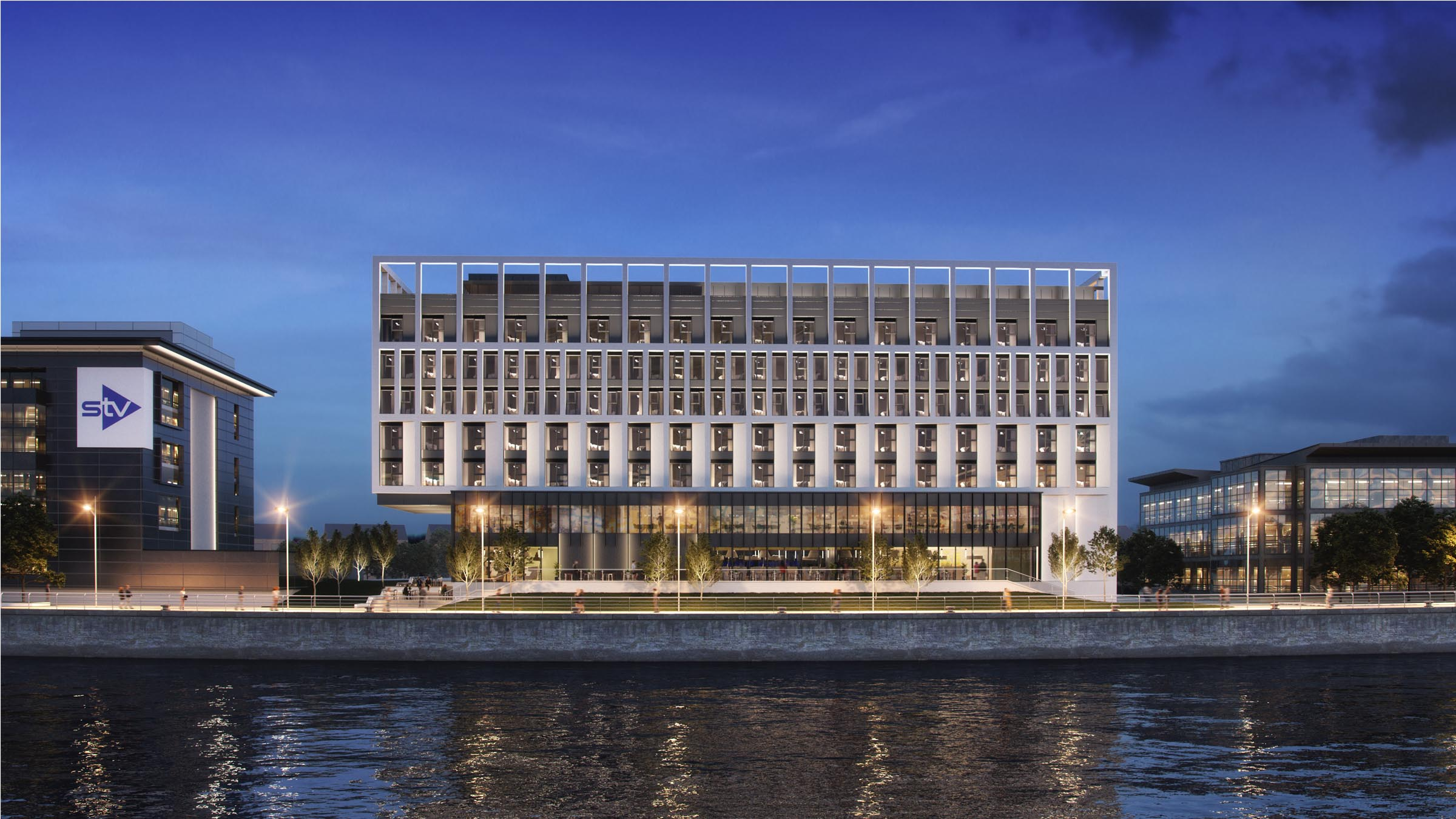 Planning approval for £18M Holiday Inn Pacific Quay hotel on former Glasgow Garden Festival site kickstarts Clyde Mission