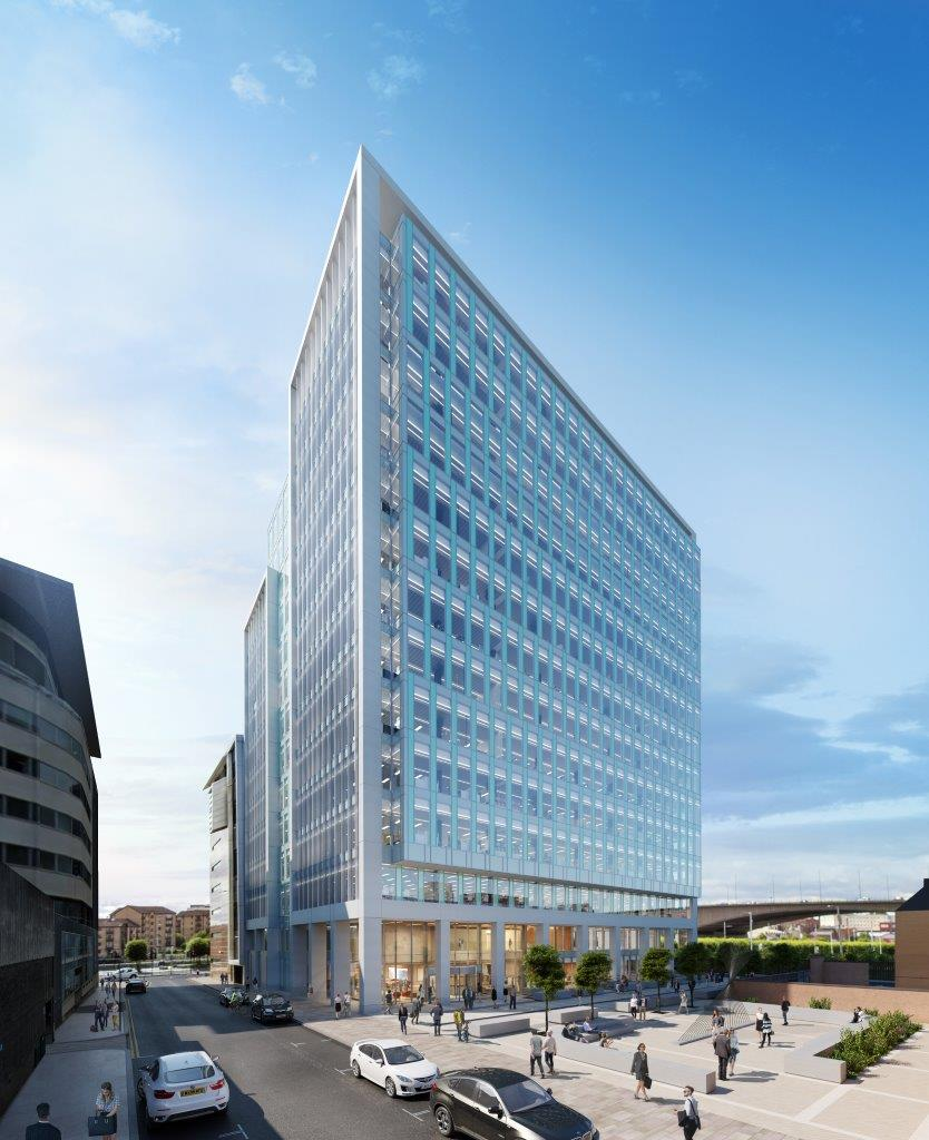 Major boost for Glasgow market as developer defies Covid to press on with giant office building