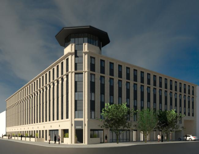 Transformation plan revealed for NHS HQ in Glasgow