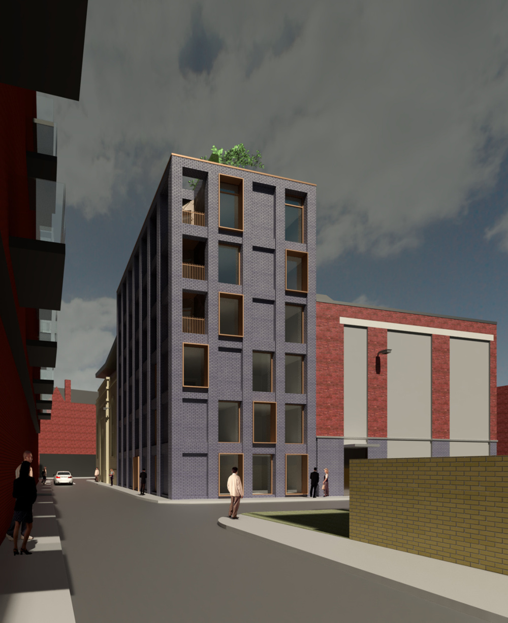 Mosaic secures planning permission and conservation area consent for new build serviced apartments on site of former Annie Miller's Public House in Glasgow